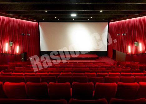 کفپوش اپوکسی سالن سینما